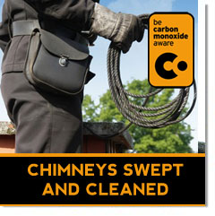 clean and sweep your chimney to prevent fire